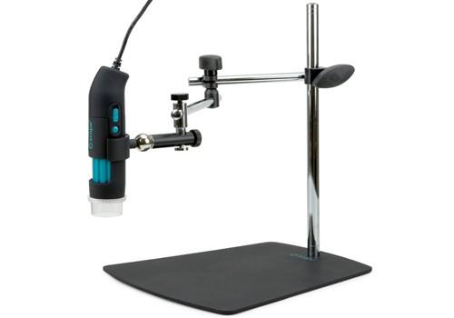 Base con brazo articulado con posicionador 3D para microscopio digital USB q-scope