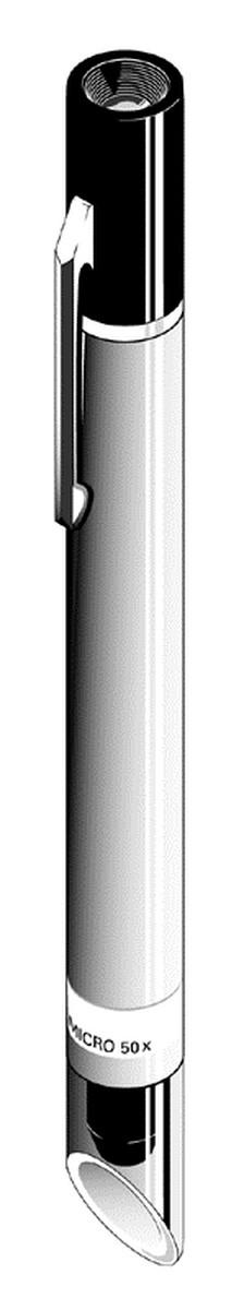 Microscopio de Bolsillo con objetivo Acromatico. 50X
